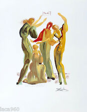 Salvador DALI Le Danse The Dancers Surrealist Fine Art Litho Print