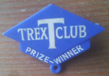 Vintage Trex T Club Pin Badge Prize Winner Advertising Food 1950s