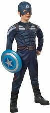 Boys DLX CAPTAIN AMERICA STEALTH Costume Child Large 12 14 Marvel Winter Soldier