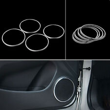4x Interior Side Door Speaker Audio Ring Cover Trim Sticker For Cruze 2009-2014