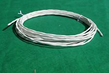 25 Ft 20 AWG Shielded Silver Plated PTFE Wire Twisted Pair 7 strand Cable.