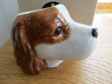 Quail Pottery Cavalier King Charles Spaniel Egg Cup Ideal  Gift Boxed.