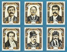 Cigarette/trade Cards - WILD WEST LAWMEN - Full mint condition set.