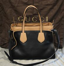NWT, Authentic Gucci Ramble Leather layered Handbag Tote, 40% Savings