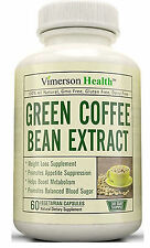 60 ct veg caps Green Coffee Bean Extract for Weight Loss, Appetite Control, More