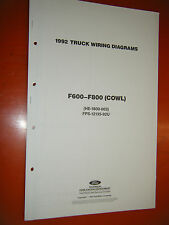 wiring diagram 1992 ford f600 wiring discover your wiring ford f800 manuals literature ford f600 wiring diagram