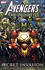 AVENGERS THE INITIATIVE Two Tpbs: 2 + 3 Secret Invasion + Killed In Action PR16