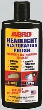 ABRO HEADLIGHT RESTORATION POLISH RESTORES CLEANS DULL YELLOW HEADLAMP LENS