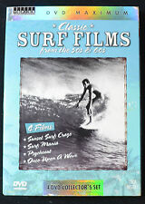 Classic Surf Films from the 50s and 60s (DVD, 4-Disc Set)   NEW  SEE DESCRIPTION