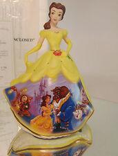 NEW Disney Princess FOREVER BELLE Porcelain Bell Doll Figurine Bradford COA Box