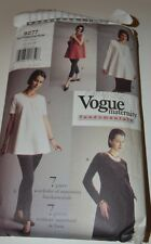 sewing pattern maternity top and leggings Vogue