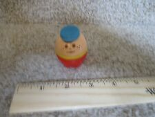 Vintage Little Tikes Toddle Tots Chunky People House blue hat boy son brother