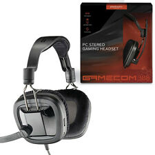NEW PLANTRONICS GAMECOM 388 WIRED STEREO GAMING HEADSET FOR PC 201260-05 BLACK