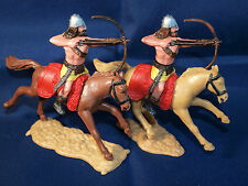 2 TIMPO VIKINGS, CAVALRY, ON HORESBACK, IN NICE CONDITION, FREEPOST.