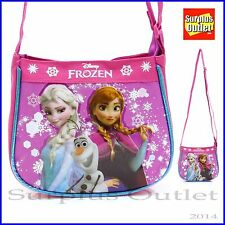 Disney Frozen Elsa  ANNA Olaf Small Messenger Bag Cross body Bag Hand Purse