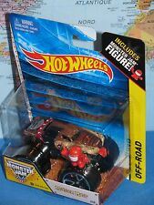 HOT WHEELS MONSTER JAM MONSTER MUTT #49 OFF-ROAD TRACK ACE TIRES