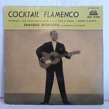 ENRIQUE MONTOYA Cocktail flamenco Esperanza ... SEDL 19 235 Vinyle rouge
