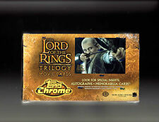 Lord of the Rings  Trilogy Movie cards sealed Box