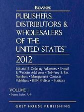 Publishers, Distributors & Wholesalers of the United States 2012 (Publ-ExLibrary
