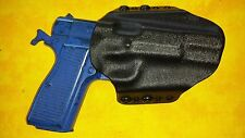 HOLSTER BLACK KYDEX BROWNING HIGH POWER OWB Outside Waistband