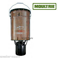 Moultrie 6.5 Gallon FeedCaster Fish Feeder Hanging Pond Lake w/ Timer MFHP60057
