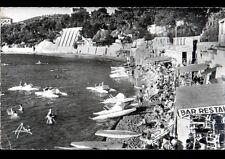 """BANDOL (83) PEDALOS au BAR-RESTAURANT & BAR """"LA GOELETTE"""" PLAGE RENECROS en 1959"""