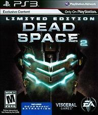 Dead Space 2-Limited Edition (Sony PlayStation 3, 2011) COMPLETE, BOX, GUN, 2-DI