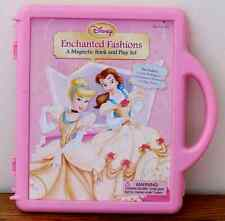 Disney Enchanted Fashions, Magnetic Book and Play Set in Plastic Case