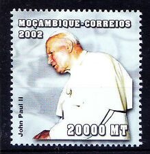 Mozambique MNH, Pope John Paul II, Religion, Father -V5