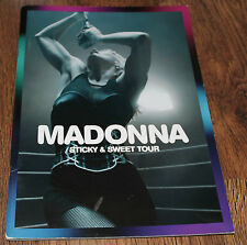 MADONNA STICKY & SWEET 08 TOUR OFFICIAL LIVE PROGRAMME CONCERT PROGRAM LOTS MORE