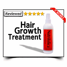 NUTRIFOLICA GROWTH TREATMENT REGROW BALD HAIRLINE REGROWTH LOSS alopecia areata
