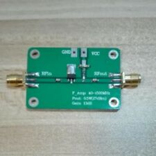 40 -1500MHz 0.5W 13dB gain Broadband RF amplifier receiver LAN HF VHF / UHF