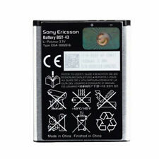 ORIGINAL SONY ERICSSON BST-43 BATTERY MIX - walk man J108i J10i J10i2 J20i NEW