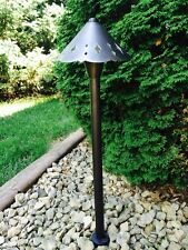 Low voltage outdoor landscape lighting solid Brass Calypso path light