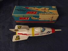 Tin Blech Rakete NIKE SAM-A7 Masuya Toy Japan OVp Friction Powered #9#