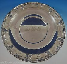 "ROSE POINT BY WALLACE STERLING SILVER SERVING PLATTER 18"" HUGE #4381 (#1101)"
