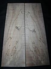 Spalted flame maple guitar top. Very nice figure.