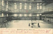 An Early View of the Interior of the Gymnasium, YMCA, Newark NJ 1906