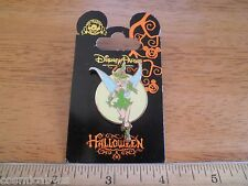 Tinkerbell halloween witch costume Disney Pin NICE! MOC Peter Pan outfit