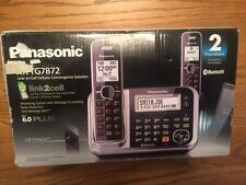 PANASONIC KX-TG7872S Link2Cell BLUETOOTH ENABLED PHONE with Answering Machine &