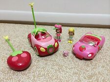 Strawberry Shortcake Doll Lot Toy Berry Sweet Remote Control Car Lemon Custard