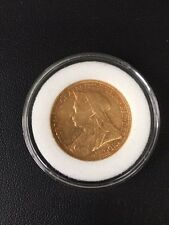 1900-S Australian Gold Sovereign in EF Condition