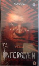 WWF WWE Wrestling Unforgiven 2003 VHS orig neu Triple H vs Goldberg