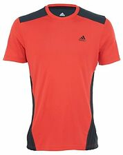 Adidas Climacool Style F86280 Men's T-shirt Red Black Size XL