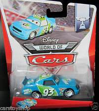 Spare O Mint No. 93 Disney Cars Toy Diecast Pixar Blue piston cup racer race