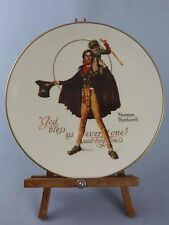 Gorham Plate / Norman Rockwell / Charles Dickens / A Christmas Carol / 1974