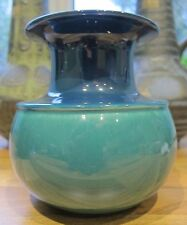 Rosenthal Studioline blue and green vase by Tapio Wirkkala West German