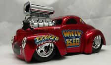 Muscle Machines Willys 1941 1:18 Custom Street rod slammed pro touring  hotrod