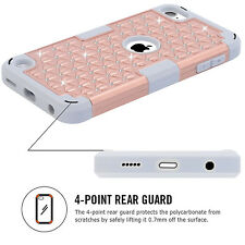 Hybrid Shockproof Gel Rubber Case Cover Skin For iPod Touch 5 th 6 th Generation