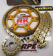 2014-2017 Yamaha FZ-09 RK GXW Gold 525 SuperSprox -1/+1t Chain and Sprocket Kit